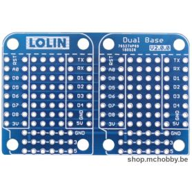 Dual Base for Wemos D1