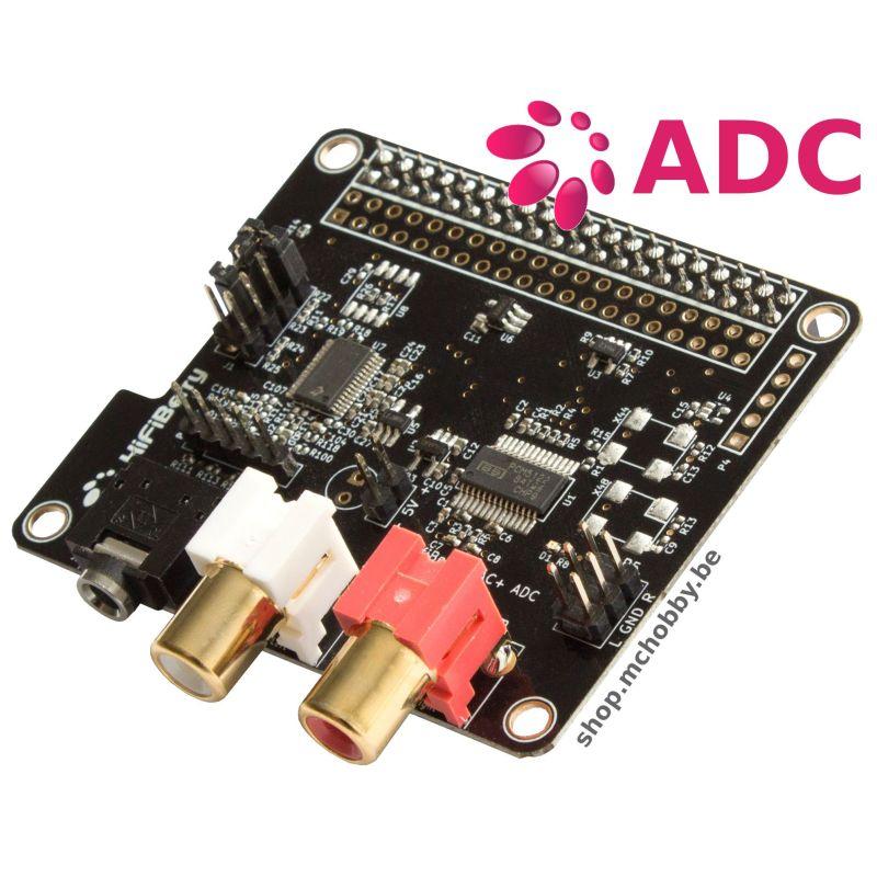 HifiBerry DAC+ - ADC Input