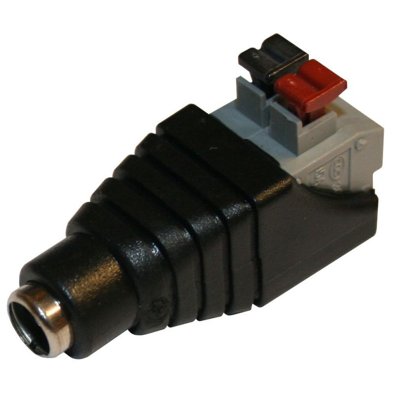 FEMALE PSU adapter (Barrel Jack to Clips)