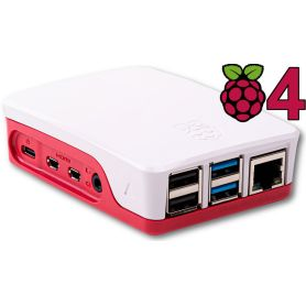 Boîtier officiel Raspberry Pi 4