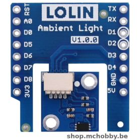 BH1750 shield for LOLIN Wemos D1 - Ambiant light