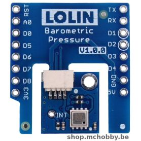 HP303B shield for LOLIN Wemos D1 - Barometric Presured and temperature