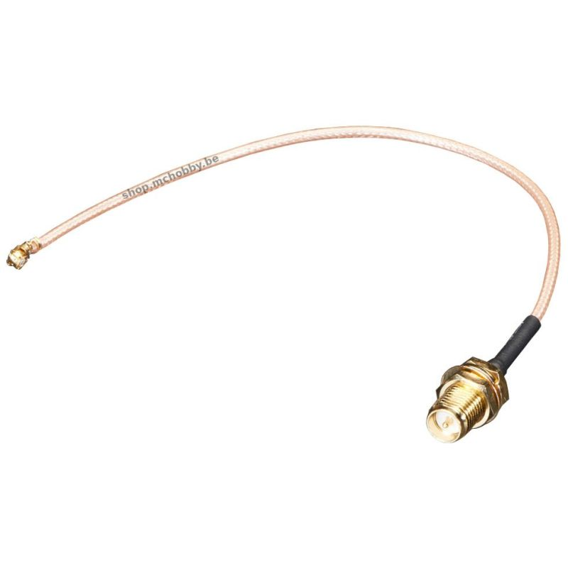 RP-SMA to uFL/u.FL/IPX/IPEX RF adapter
