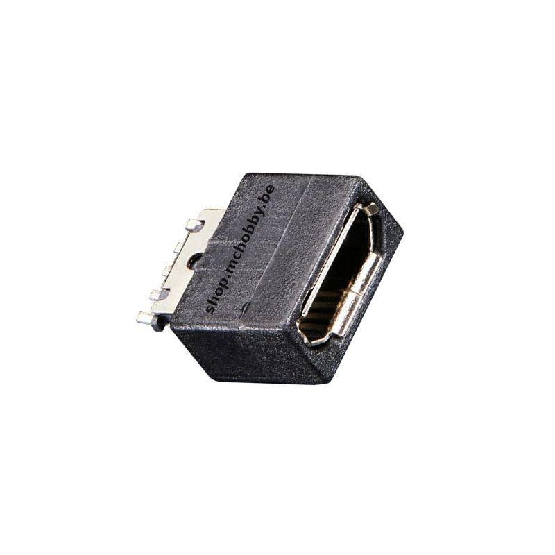 USB type Micro B Femelle - Connecteur DIY