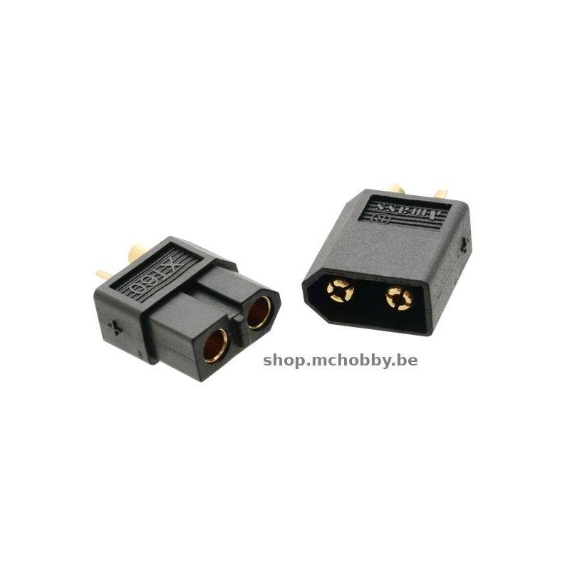 Paire de connecteur XT60-Noir
