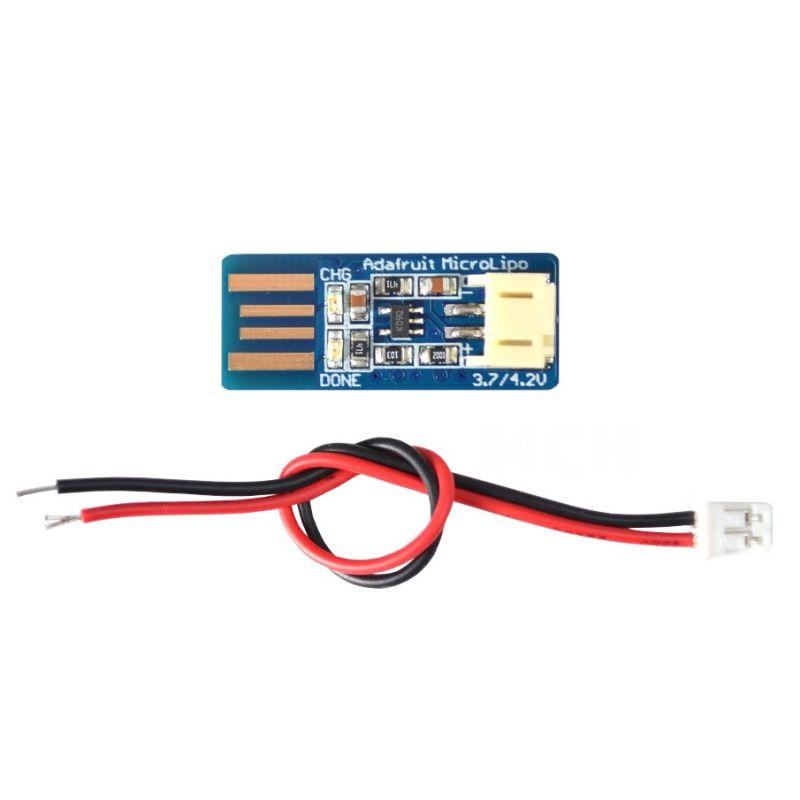 Chargeur Micro Lipo USB - LiIon/LiPoly