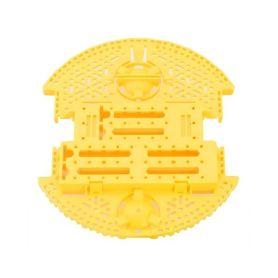 Plaque Romi Robot - Jaune