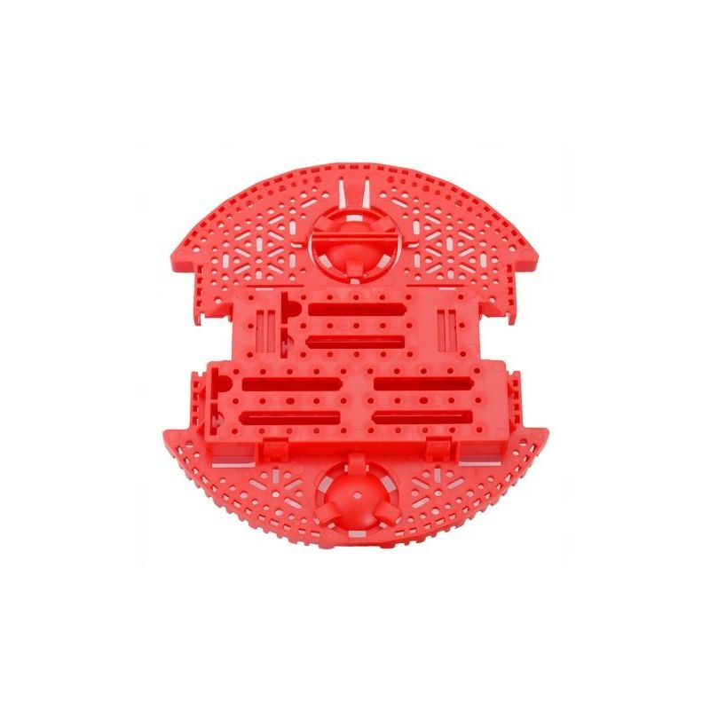 Romi Robot Plate - Red