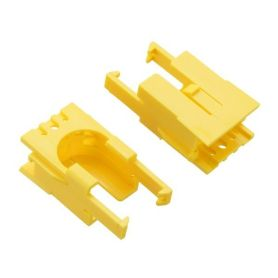 2x Romi motor-holding clips - Yellow