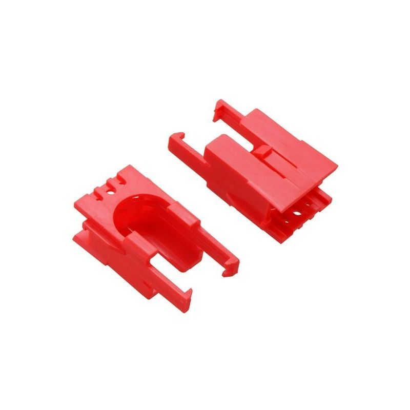 2x Romi motor-holding clips - Red