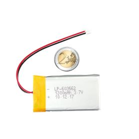 Lipo battery - 3.7v 1300mAh