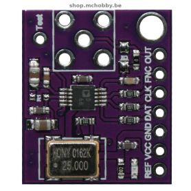 AD9833 - sinus, Triangle, Clock signal generator - 0 to 12.5 Mhz