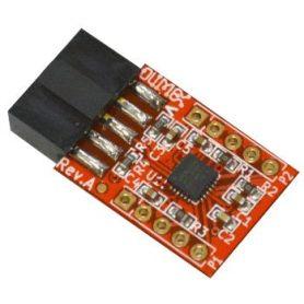 MOD-MPU9150 : Centrale inertielle à 9 degrés de libertés