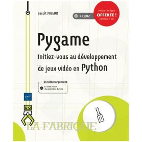 French book!  Pygame - Python to discover the game programming with Python