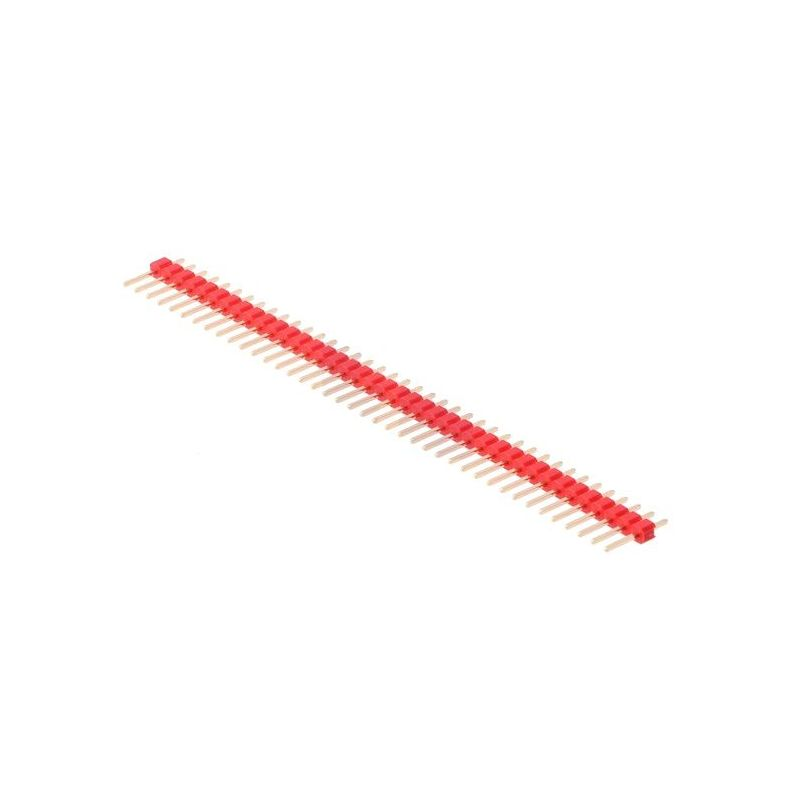 1 x 40 Pin Header Red