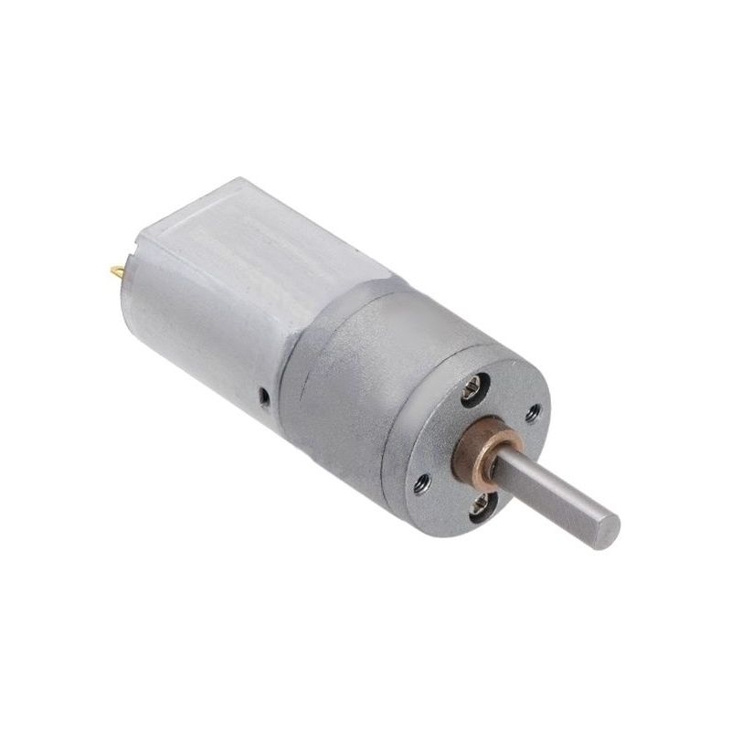 Motor 6V 25:1 - 4mm D Axis - 20D - metal gearing