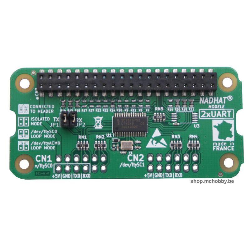 Hat 2 UARTs pour Raspberry-Pi