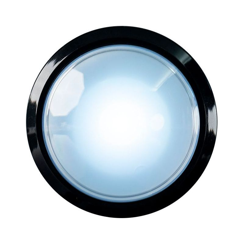 EXTRA Large Arcade Button - White LED - 100mm