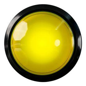 Arcade Button - EXTRA Large - LED JAUNE - 100mm