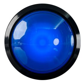 Arcade Button - EXTRA Large - LED BLEUE - 100mm