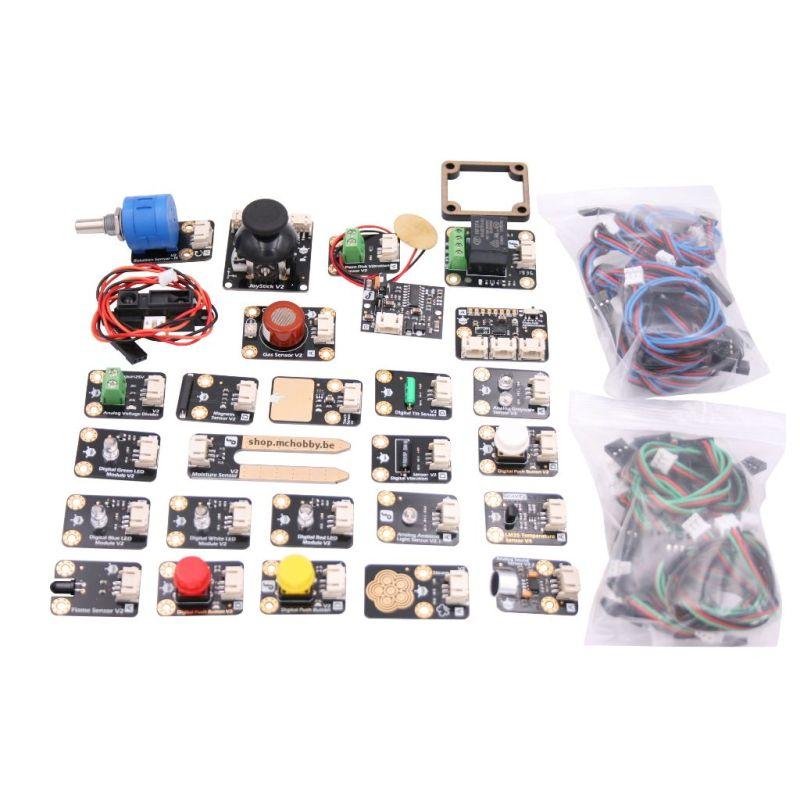 Gravity : 27 sensor kit (Arduino)