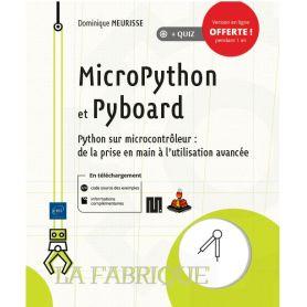 Livre MicroPython et Pyboard