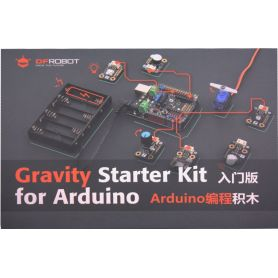 Gravity : Starter kit for Arduino compatible