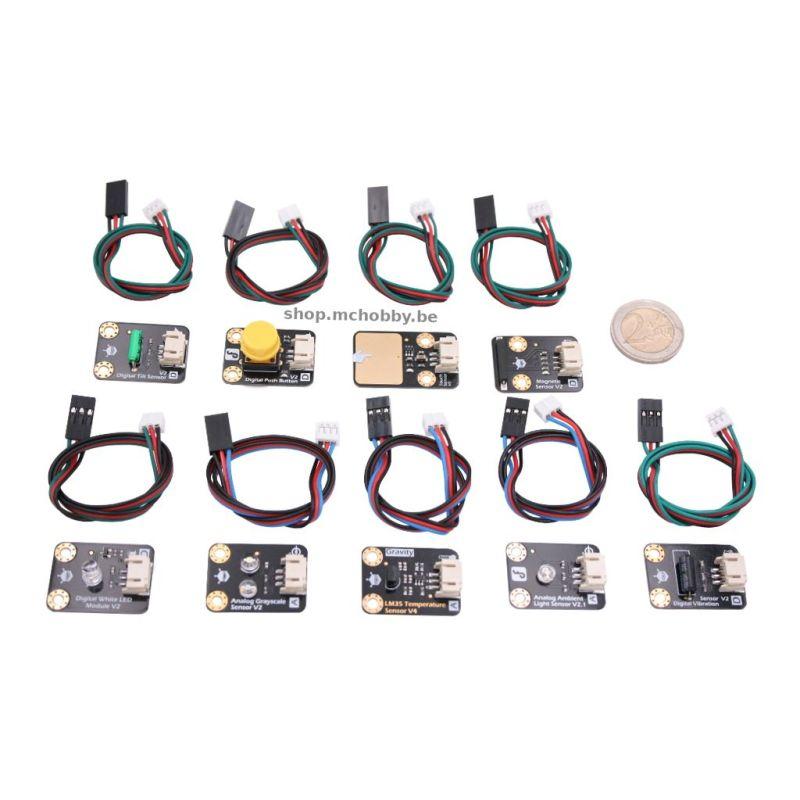 Gravity : 9 sensors kit