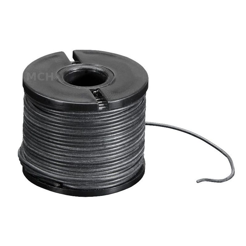 15m multi-core BLACK wire, 30 AWG, Silicon