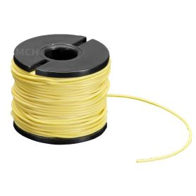 15m multi-core YELLOW wire, 30 AWG, Silicon