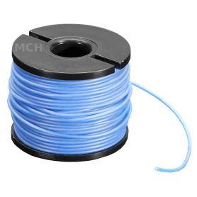 15m fil multi-brin BLEU, 30 AWG, Silicone