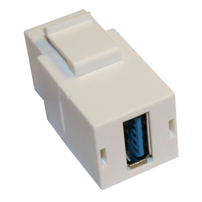 Keystone - Coupleur USB3 vers USB3