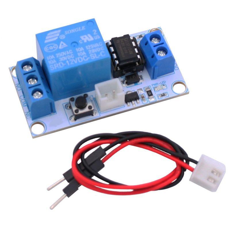 Bistable relay module  (push-push)