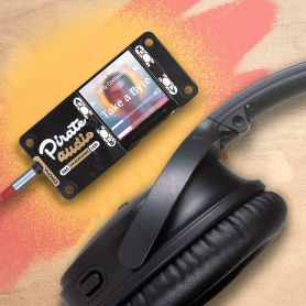 Hat Pirate audio headphone from Pimoroni