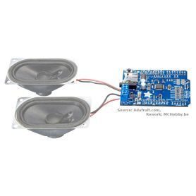 MP3 Shield amplifié - Music Maker 3W Stéréo - VS1053