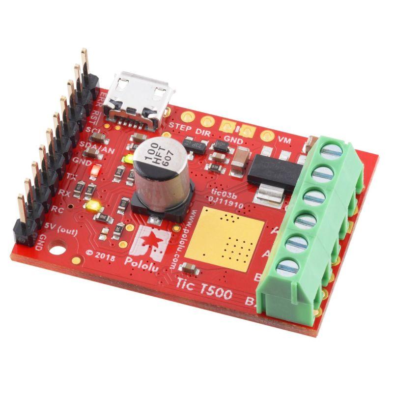 Tic T500 USB - contrôleur moteur pas-à-pas multi-Interface