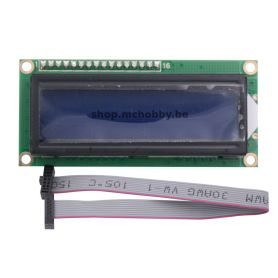 I2C 16x2 Arduino LCD Display Module