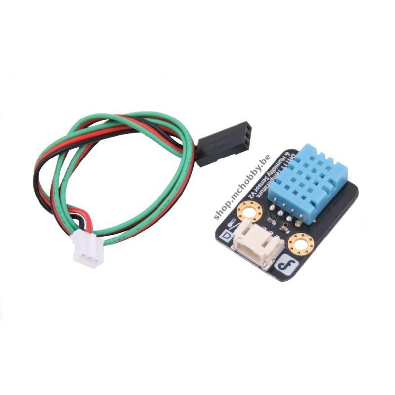 Gravity: DHT11 Temperature & Humidity Sensor For Arduino