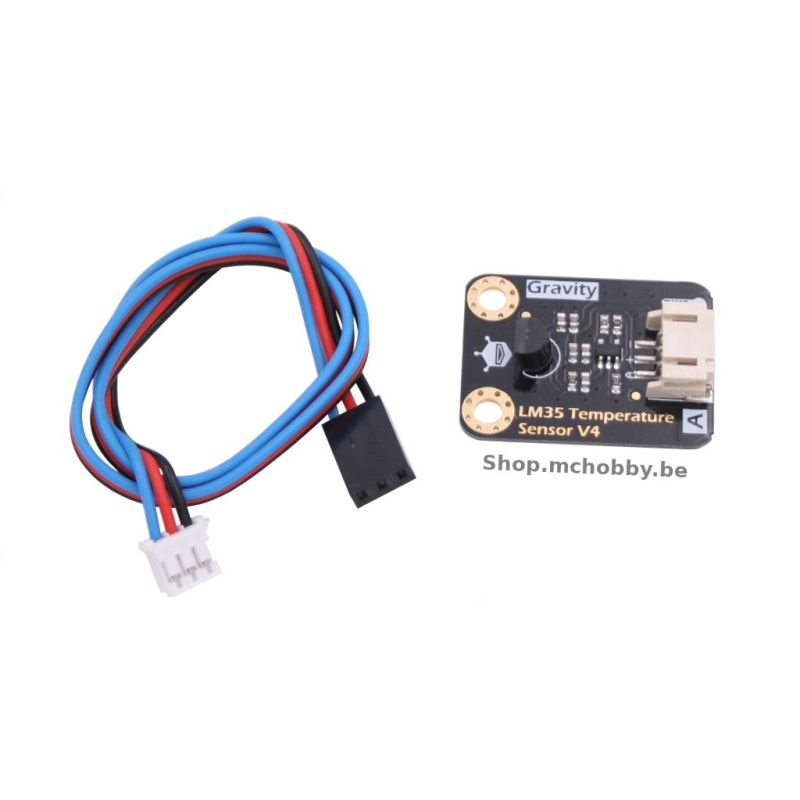 Gravity: Analog LM35 Temperature Sensor For Arduino