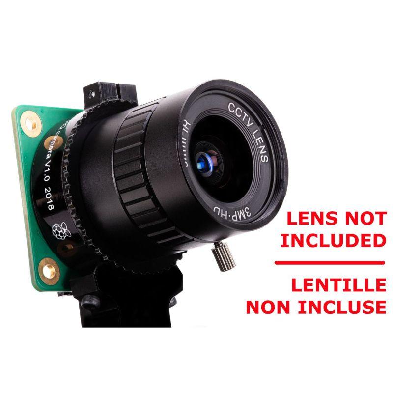HQ Camera pour Raspberry-Pi - CS Mount