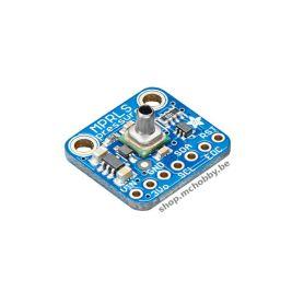 MPRLS, Capteur de pression sortie déportée , 0-25 PSI , I2C