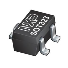 Double diode Schottky - 200mA - cathode commure
