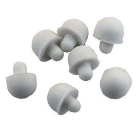 10x Support pour Circuit Imprimé - Caoutchouc - Blanc