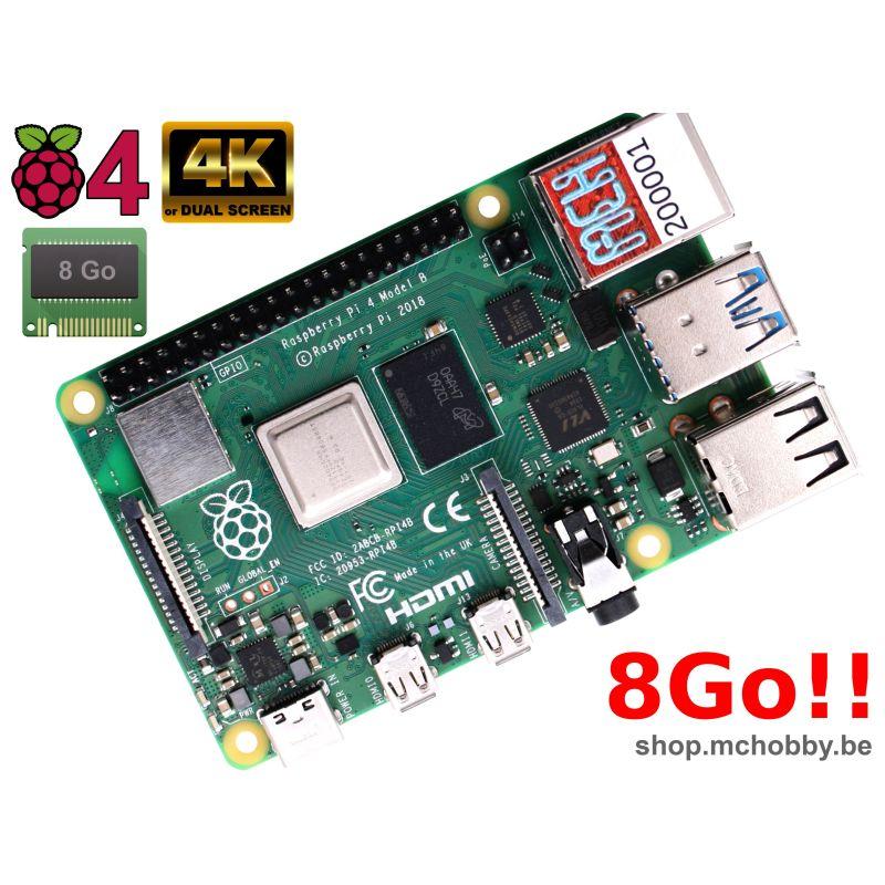 Raspberry Pi 4 - 8 Go de RAM !! DISPO EN STOCK !!