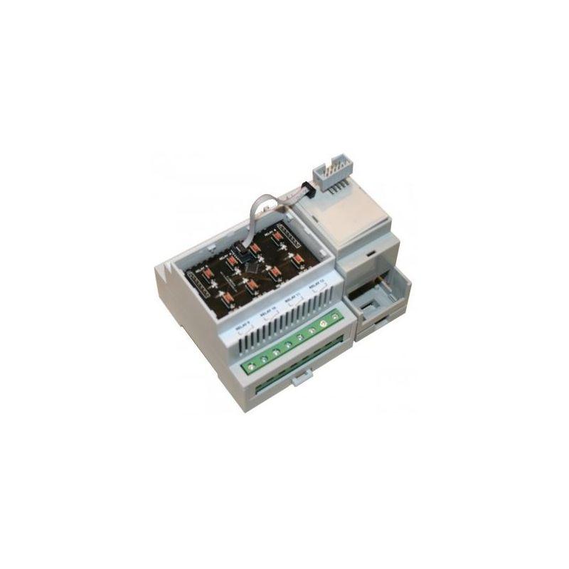 Module 8 Relais pour RAIL DiN (I2C)