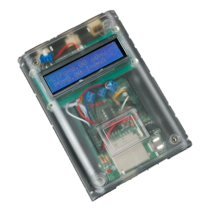 Exemple d'utilisation du boitier Transparent DELUXE