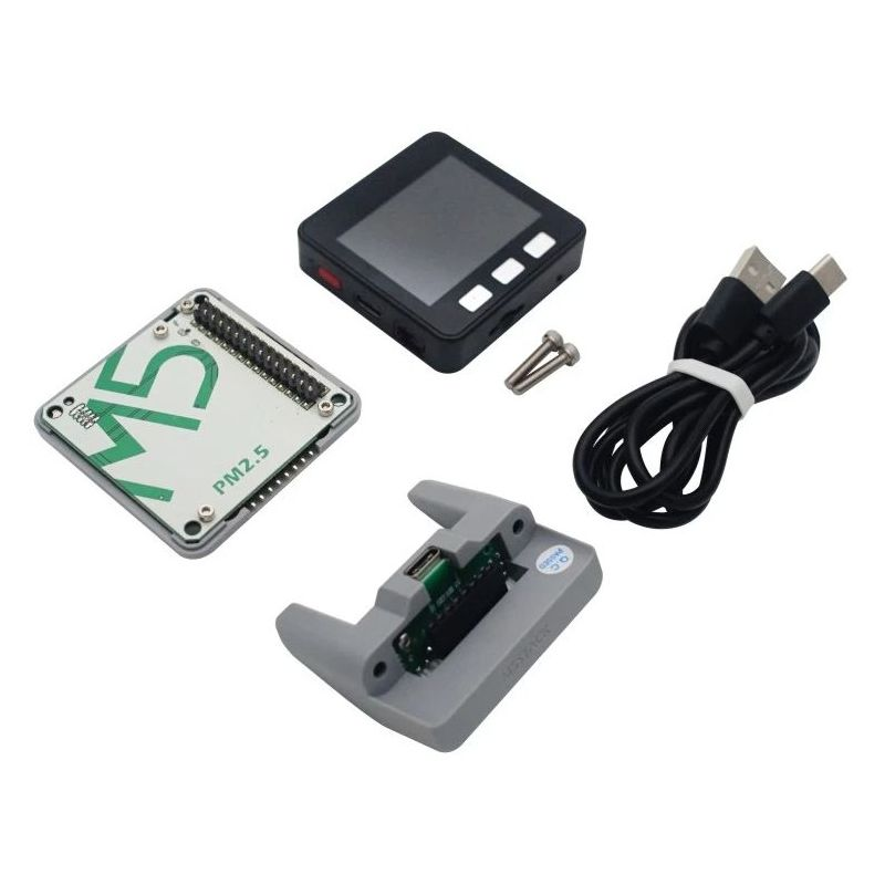 M5Stackcore + PM2.5 capteur qualité d'air