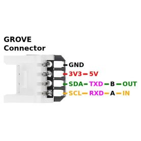 Connecteur Grove vers broches - 5pcs