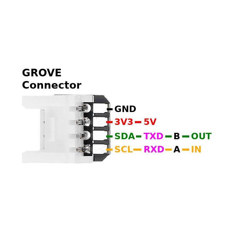 Connecteur Groove vers broches - 5pcs