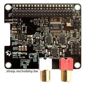 HiFiBerry DAC2 HD - Fiche RCA (gold)